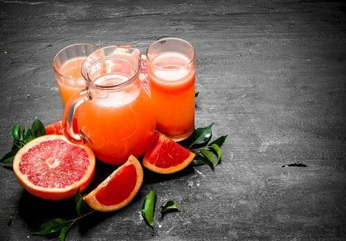 Owoc grejpfruta - sok korzystny dla zdrowia