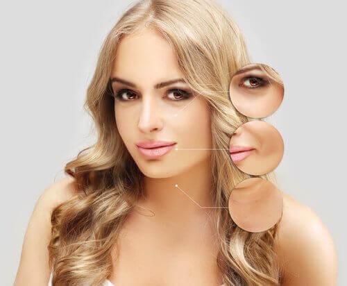 młoda kobieta i właściwości kwasu hialuronowego