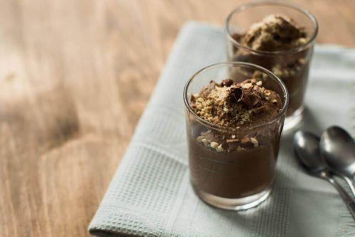 koktajle proteinowe z czekoladą i tofu