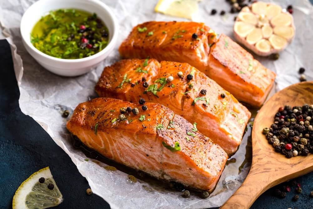 łosoś potrawy z ryb