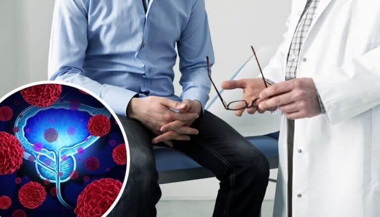 rak prostaty i ból pleców