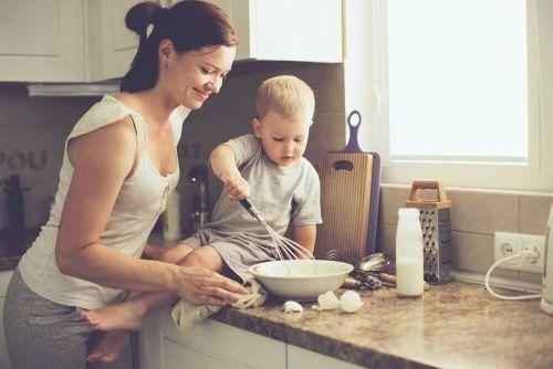 Komunikacja z dzieckiem może zostać nawiązana prze wspólne gotowanie