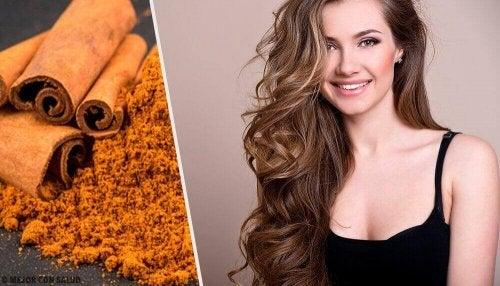 Cynamonowa maseczka na piękne włosy – 4 receptury