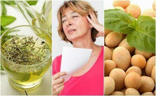 Jak zaradzić menopauzie? - 5 naturalnych produktów