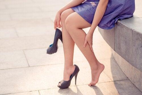 nogi kobiece