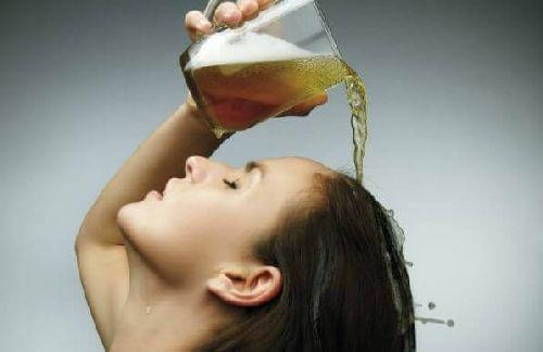 Piwo na włosy