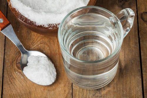 Płyn do płukania gardła soda oczyszczona