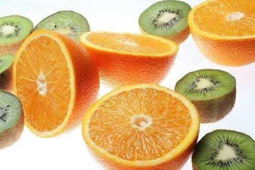 Pomarańcza i kiwi
