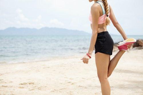 Rozciąganie mięśni nóg