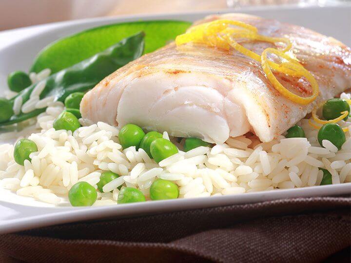 ryba i ryż. Potrawy z ryb
