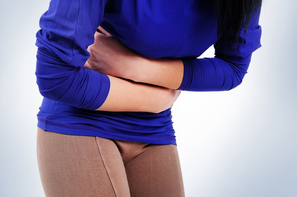 Silny ból brzucha