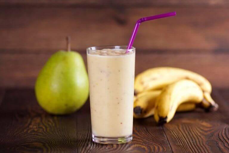 smoothie bananowo-gruszkowe