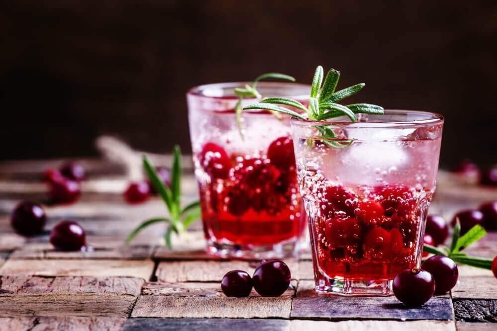 drinki z jagodami - naturalne afrodyzjaki