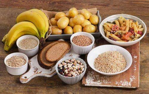 węglowodany produkty spożywcze na zachcianki