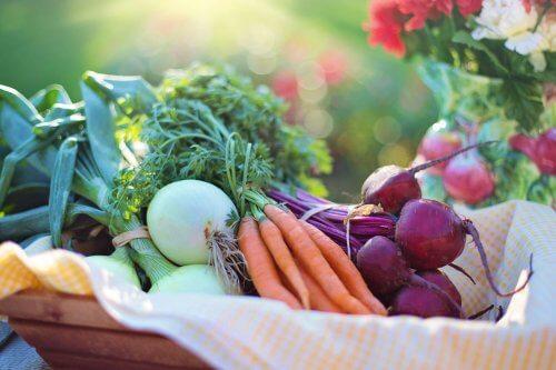 Warzywa na zdrowa cera