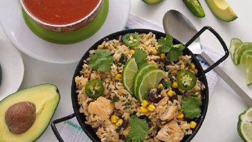 Warzywa i owoce ryż paella
