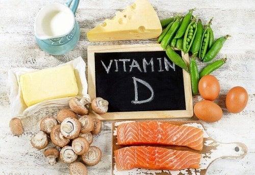Produkty bogate w witaminę D to na przykład ryby.
