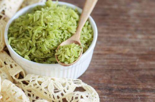 Zielony ryż – wypróbuj koniecznie ten wspaniały przepis!