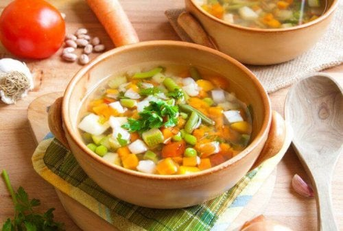 Zupa serrano zawiera aż 60% warzyw.