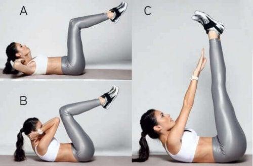 Mięśnie brzucha – 6 najlepszych domowych ćwiczeń