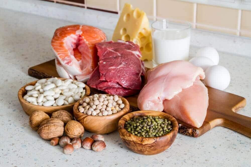 Żródła białka i tłuszczy - modelowanie sylwetki