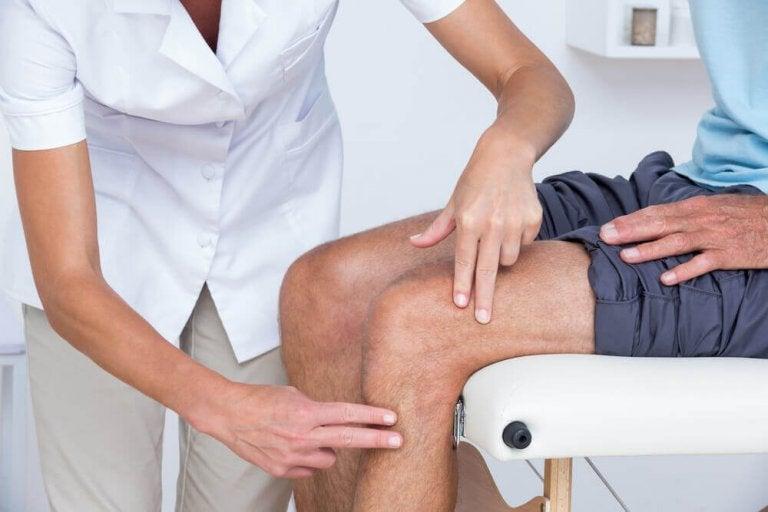 Badanie kolan.