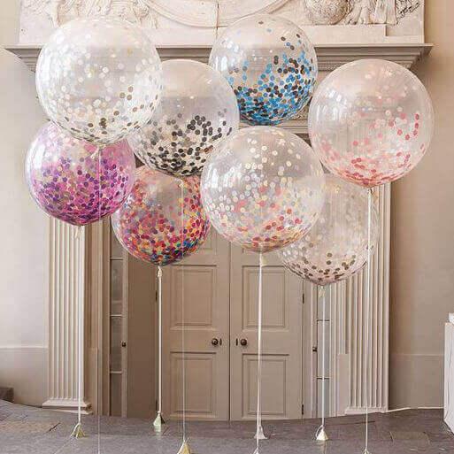 balony przeźroczyste
