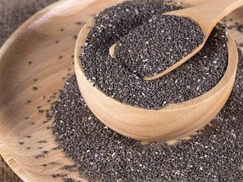 Nasiona chia są dobrym źródłem błonnika