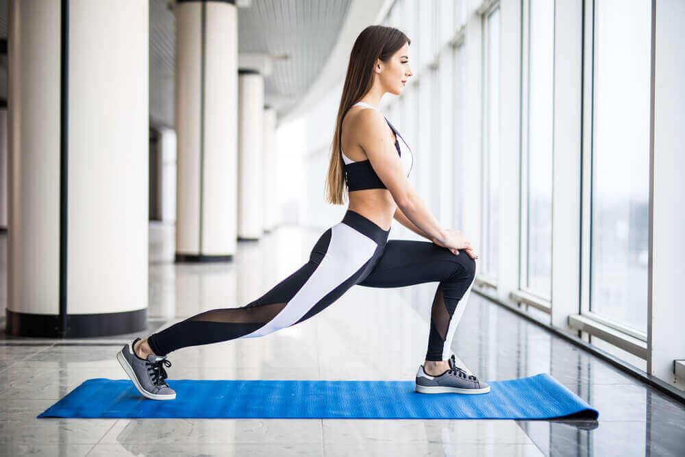Ćwiczenia na kolana.