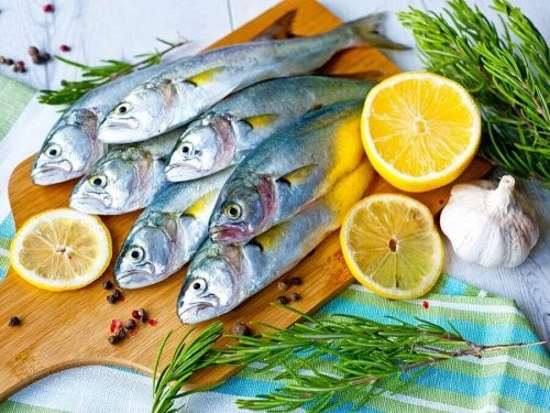 cytryna i ryba na płaski brzuch