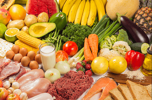 zdrowe produkty żywnościowe zmniejszą Wpływ menopauzy na skórę