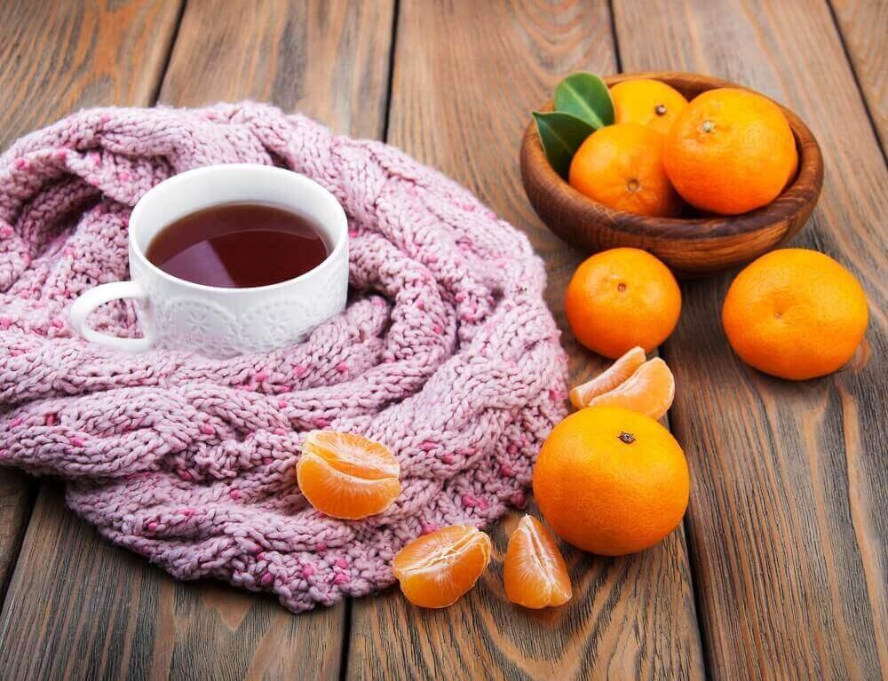 herbata ze skorka mandarynki