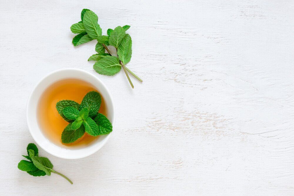 Herbata miętowa Herbatka na kaszel
