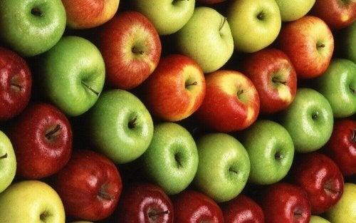jabłka - owoce i warzywa zapobiegające nowotworom