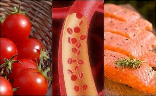 Zdrowe tętnice – 8 elementów diety, które warto jeść