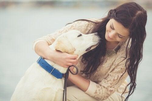 Kobieta z psem.