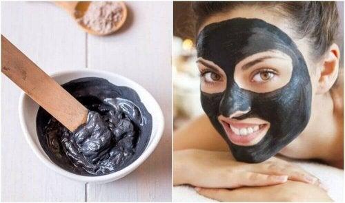 Czarna maseczka – twarz bez wągrów i zaskórników!
