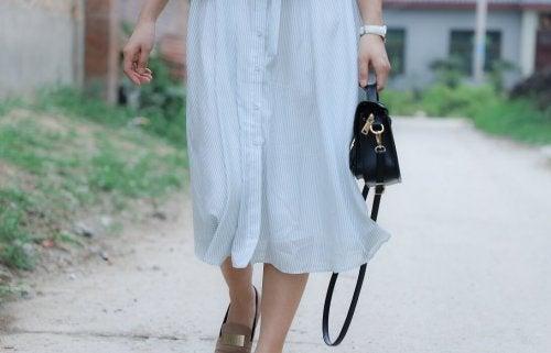 midi sukienka jasna1