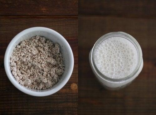 smoothies migdał i mleko