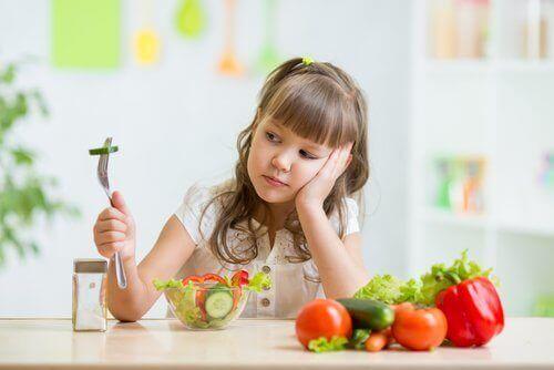 Problemy z odżywianiem dzieci