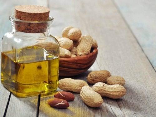 olej z orzeszków ziemnych
