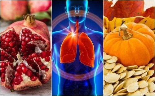 Wzmocnij płuca dzięki tym 6 produktom