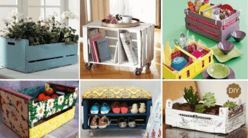 Dekoracje z pudełek – 7 praktycznych pomysłów
