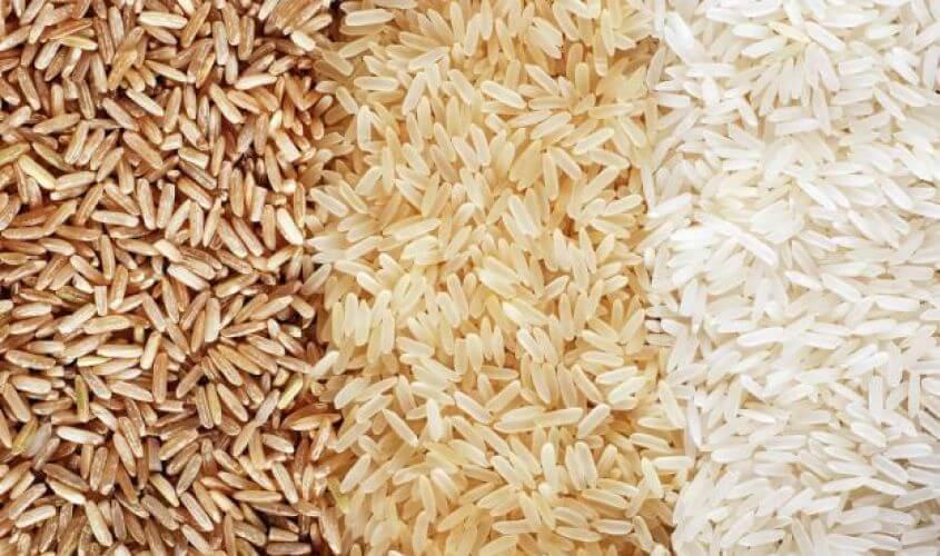 Rodzaje ryżu.