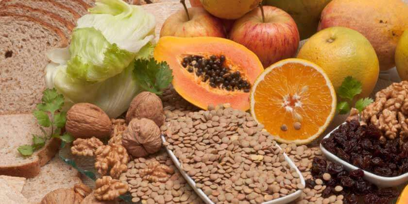 Różne zdrowe produkty żywnościowe