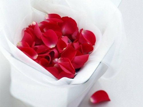 Sekrety urody - płatki róż