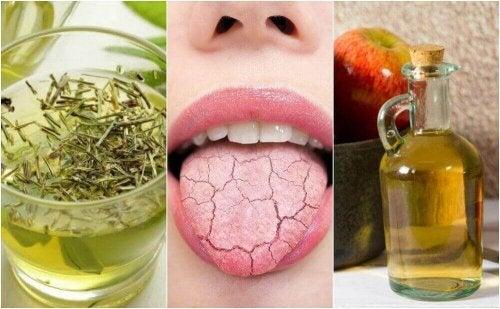 5 sposobów na suchość jamy ustnej