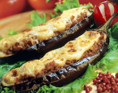 Zapiekane bakłażany z serem