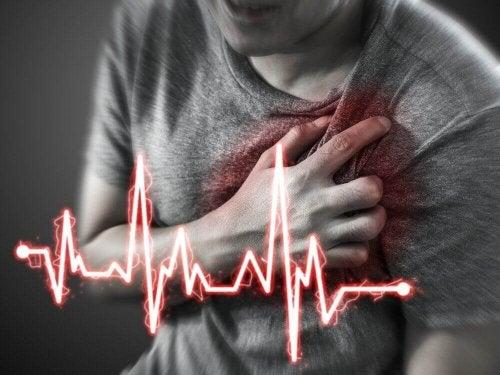 Ból i niepokój stanowią jedne z symptomów zawału.