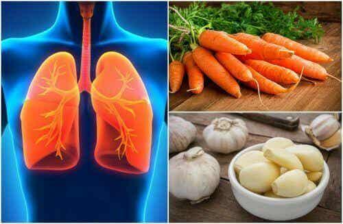 Zdrowie płuc - 7 pokarmów, które je poprawią